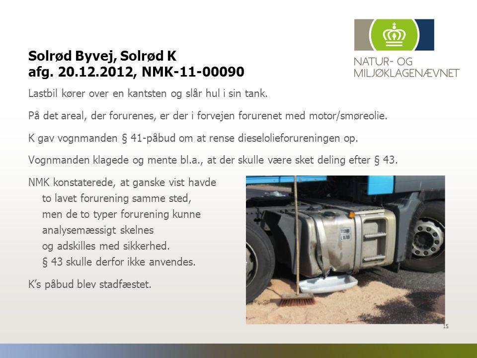 Solrød Byvej, Solrød K afg. 20.12.2012, NMK-11-00090