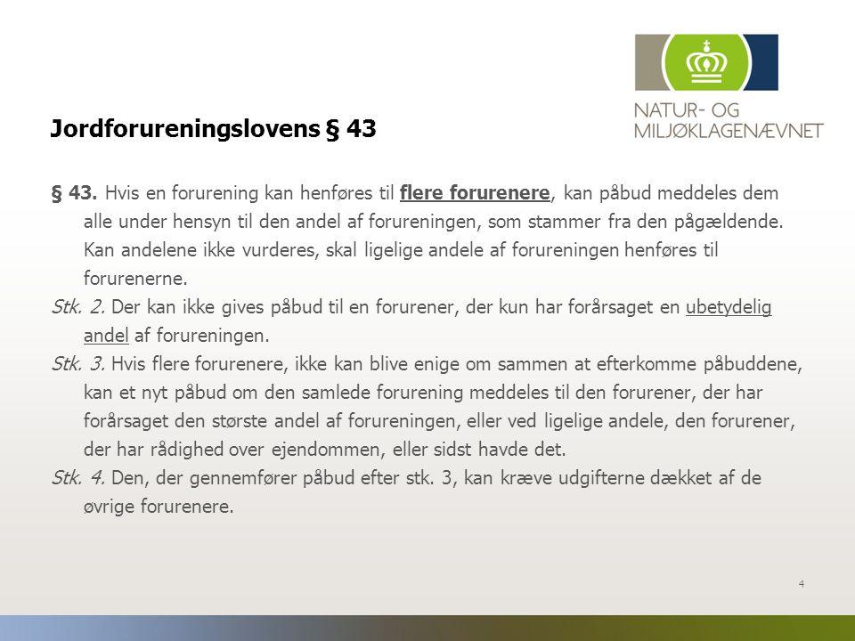 Jordforureningslovens § 43