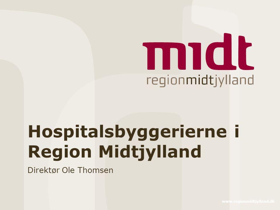 Hospitalsbyggerierne i Region Midtjylland
