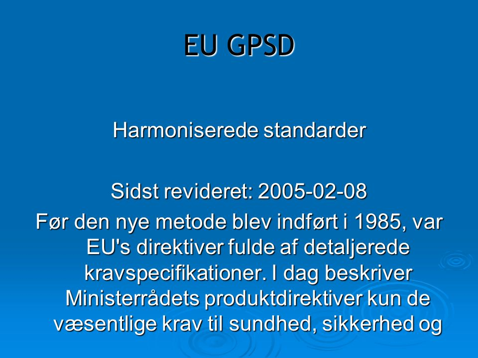 Harmoniserede standarder