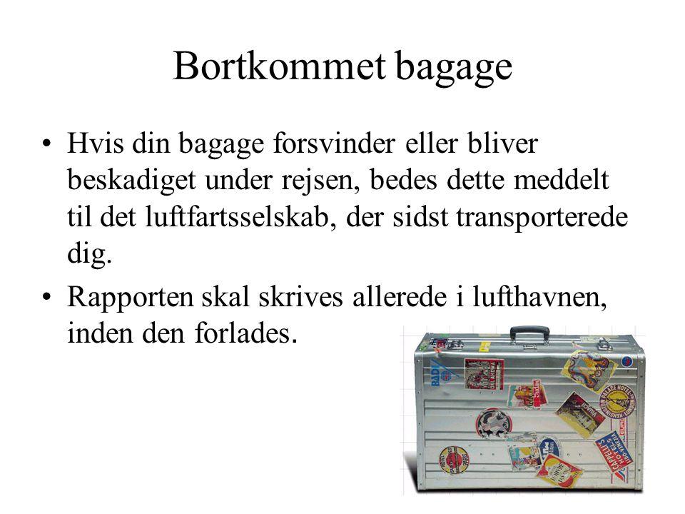 Bortkommet bagage