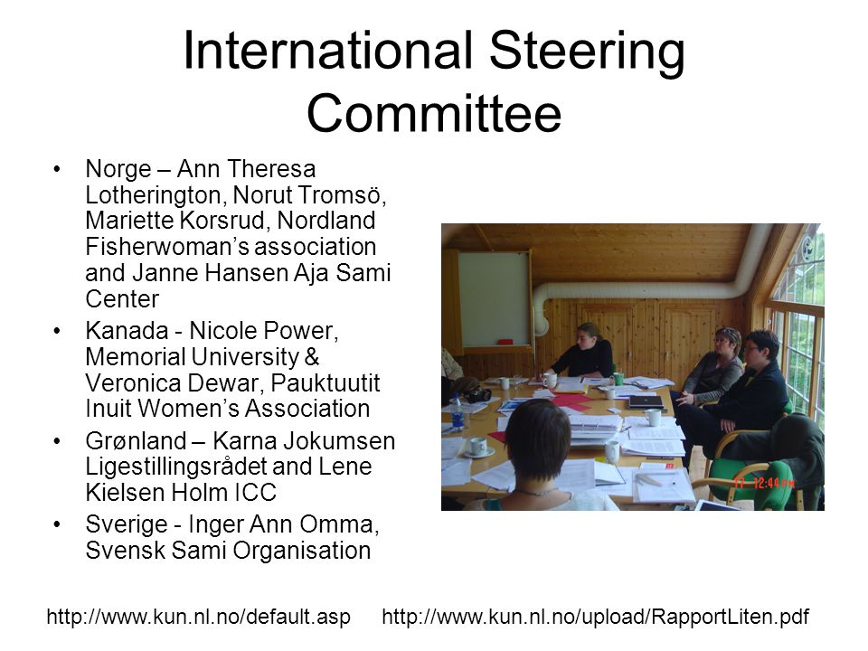 International Steering Committee