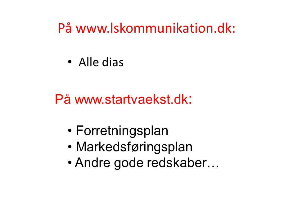 På www.lskommunikation.dk: