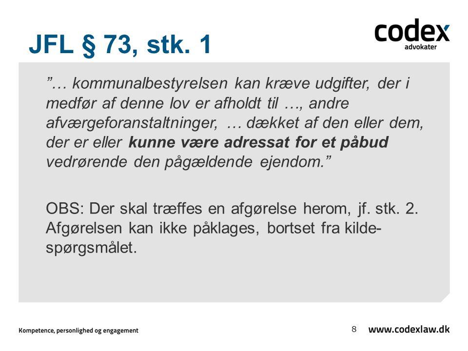 JFL § 73, stk. 1