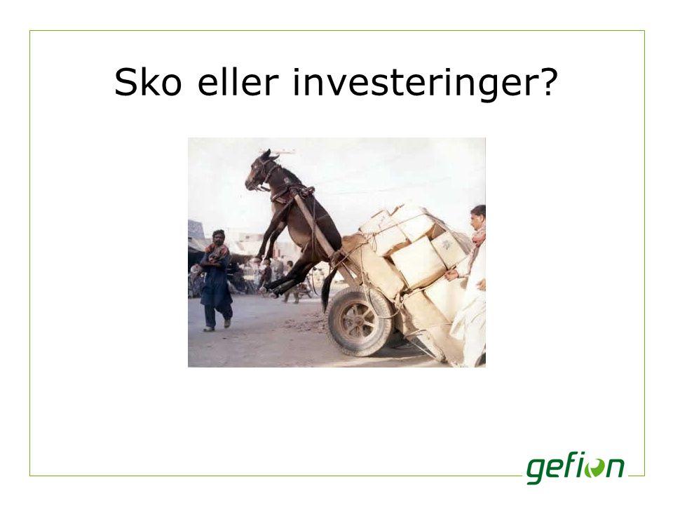 Sko eller investeringer