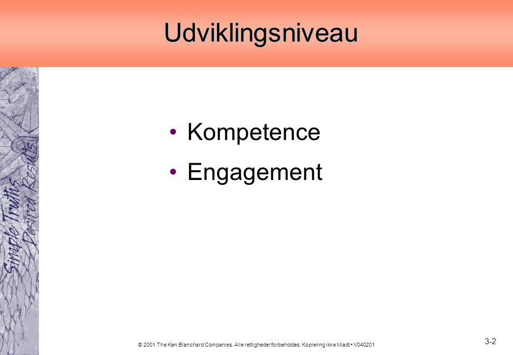 Udviklingsniveau Kompetence Engagement 3-2