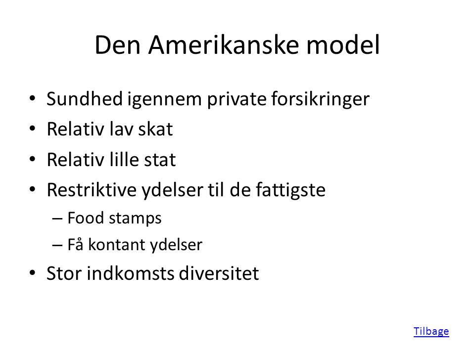 Velfærdsmodeller i verden - En kort gennemgang af Peter Dræby og Jeppe Sjørup Kilde: - ppt video ...