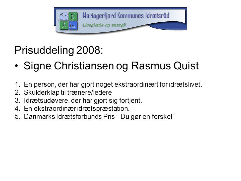 Signe Christiansen og Rasmus Quist