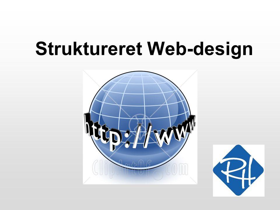 Struktureret Web-design