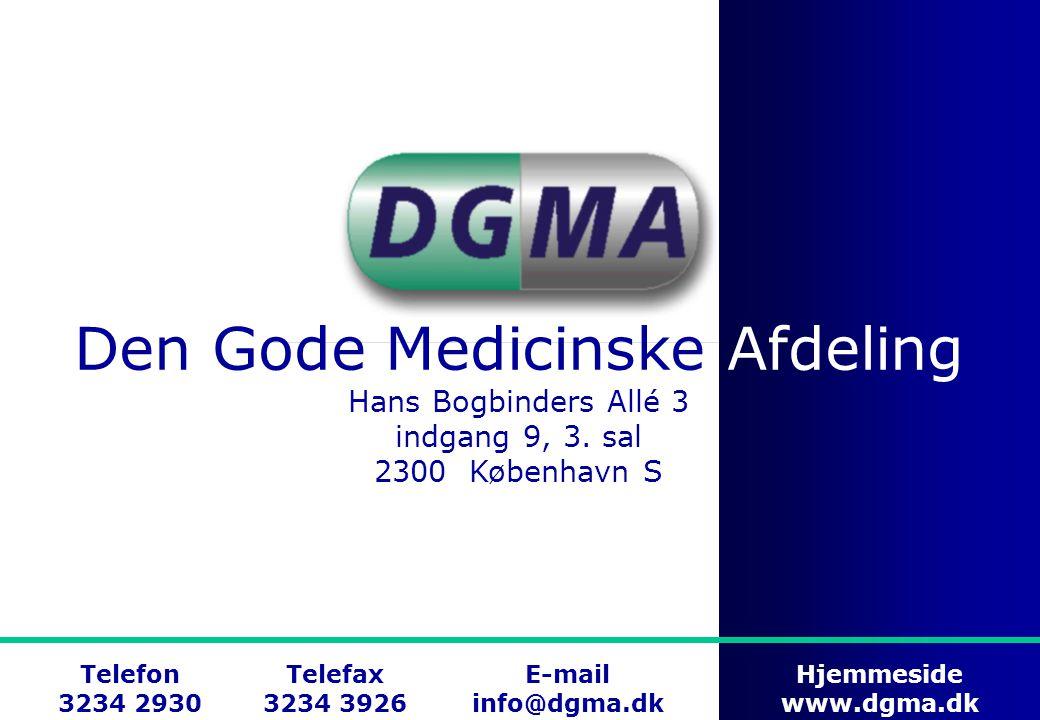 Den Gode Medicinske Afdeling