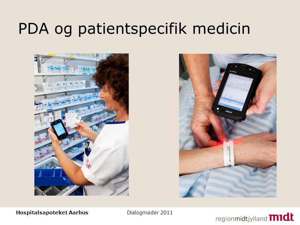 PDA og patientspecifik medicin