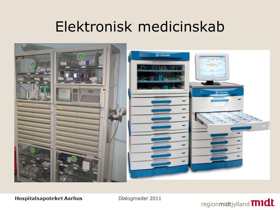 Elektronisk medicinskab