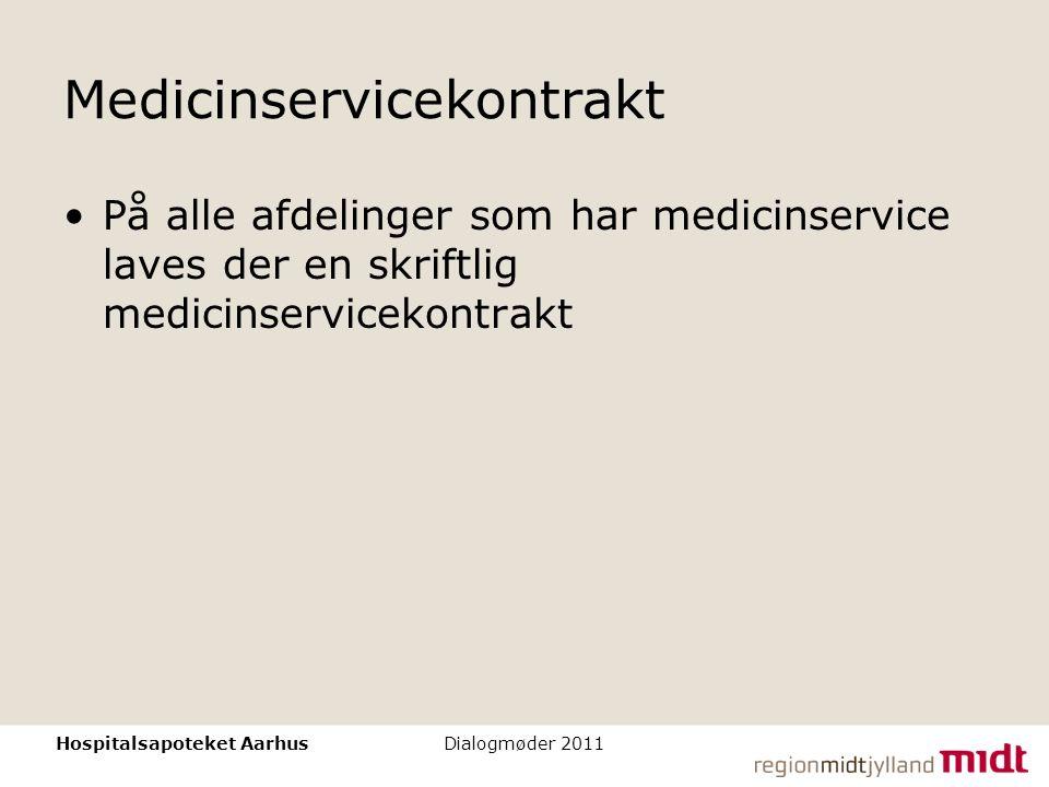 Medicinservicekontrakt