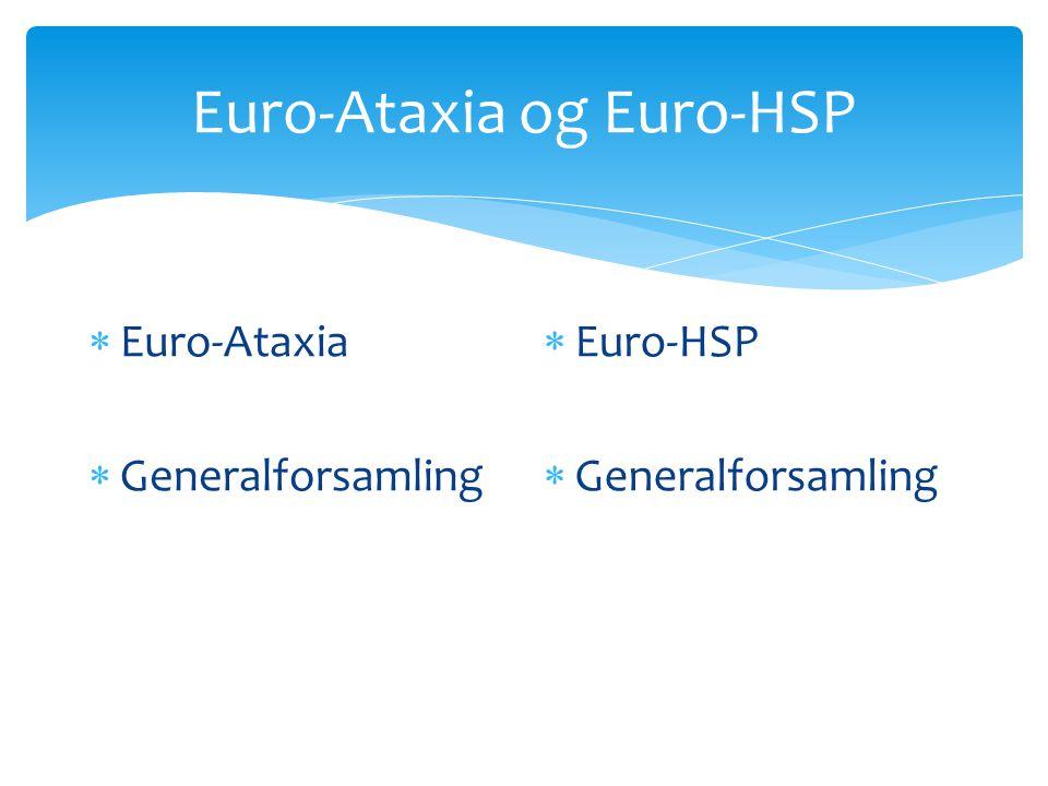 Euro-Ataxia og Euro-HSP