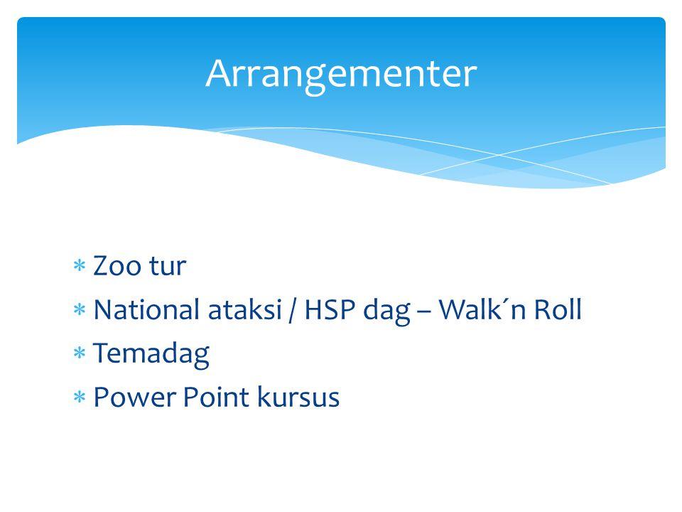 Arrangementer Zoo tur National ataksi / HSP dag – Walk´n Roll Temadag