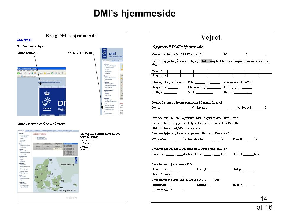 DMI's hjemmeside af 16