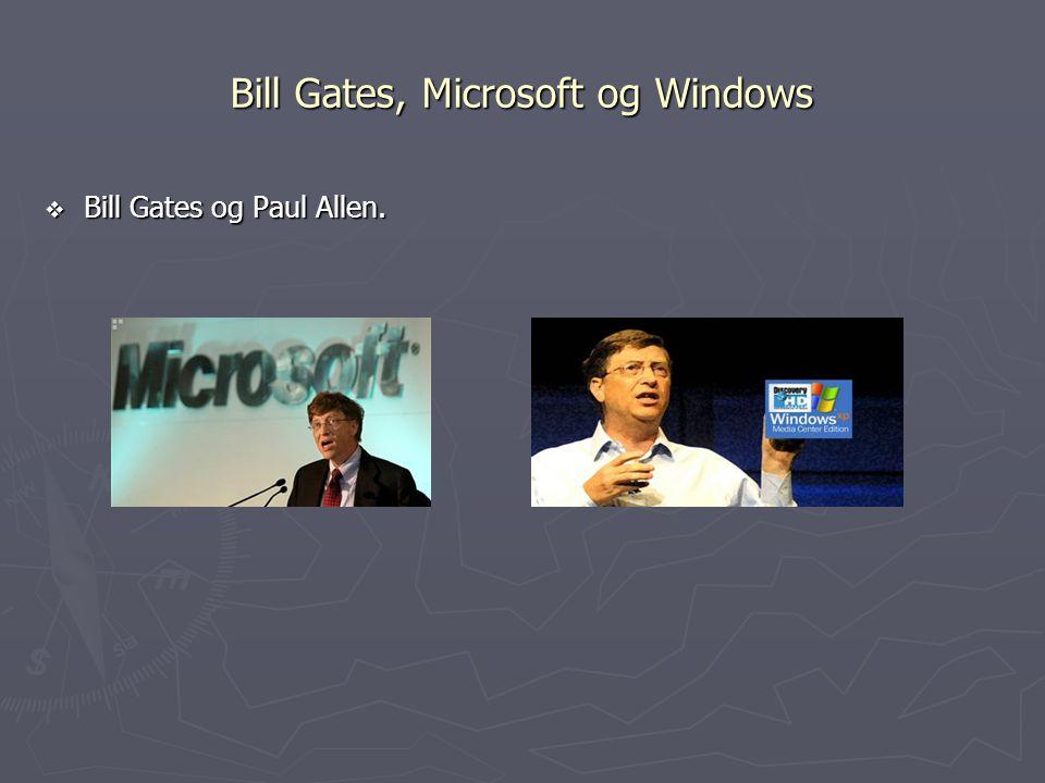 Bill Gates, Microsoft og Windows