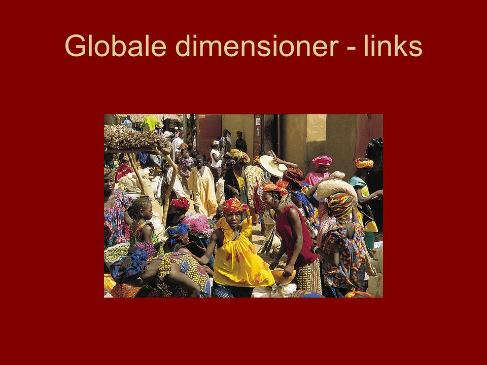 Globale dimensioner - links