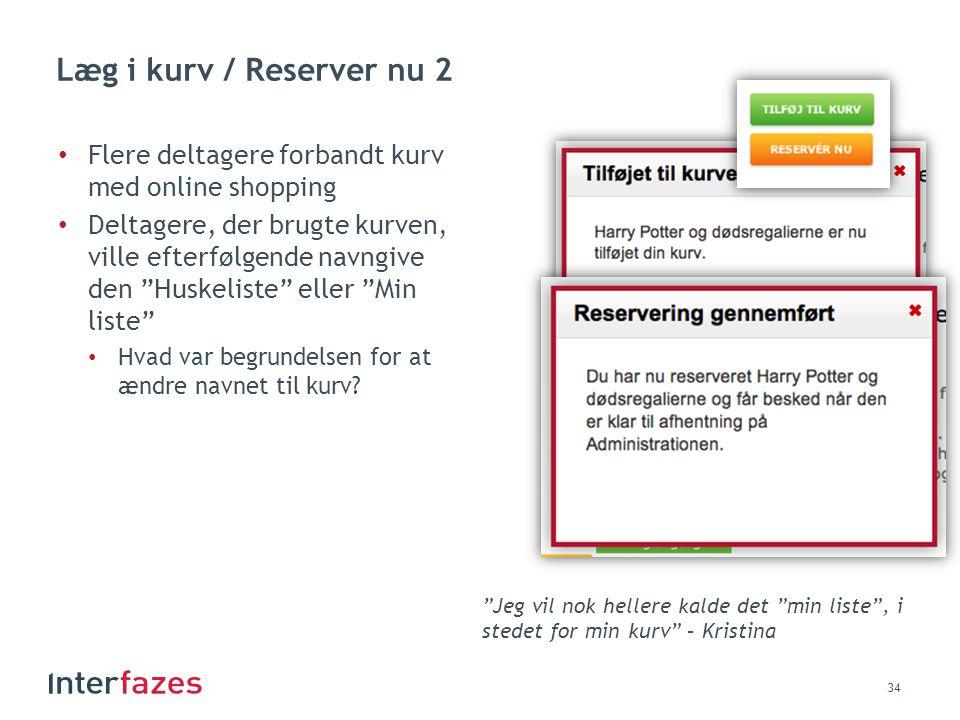 Læg i kurv / Reserver nu 2 Flere deltagere forbandt kurv med online shopping.