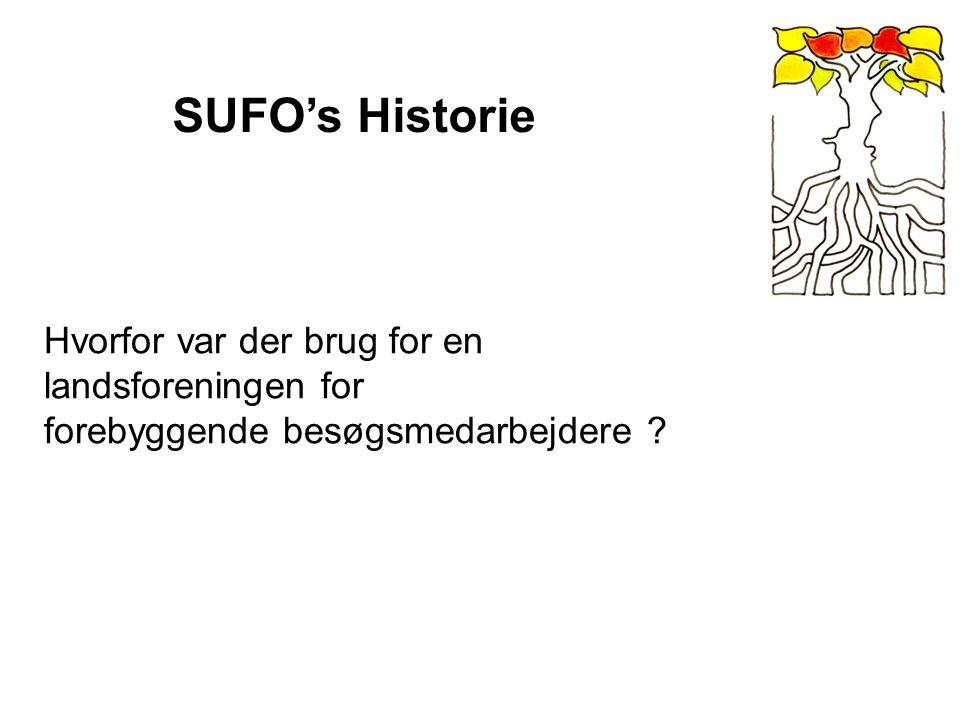 SUFO's Historie Hvorfor var der brug for en landsforeningen for