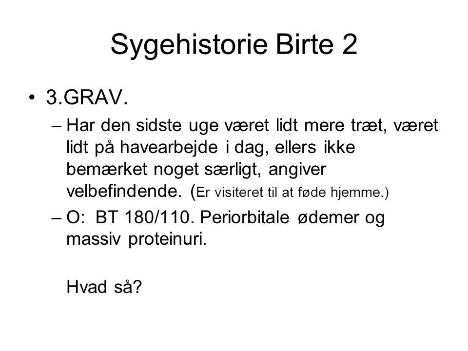 Sygehistorie Birte 2 3.GRAV.