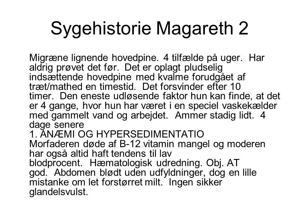 Sygehistorie Magareth 2