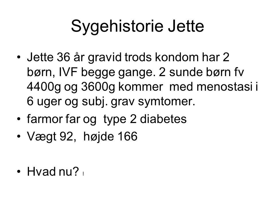 Sygehistorie Jette