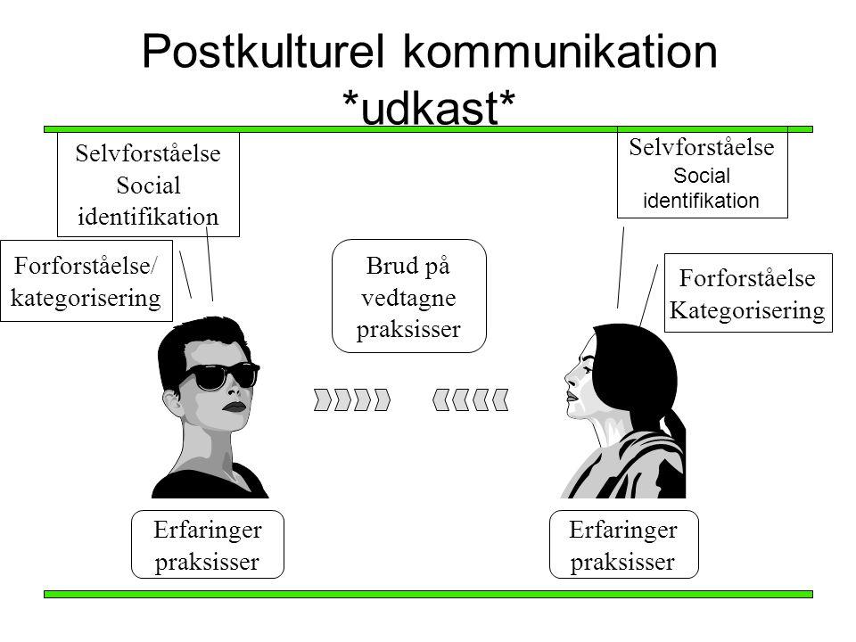 Postkulturel kommunikation *udkast*