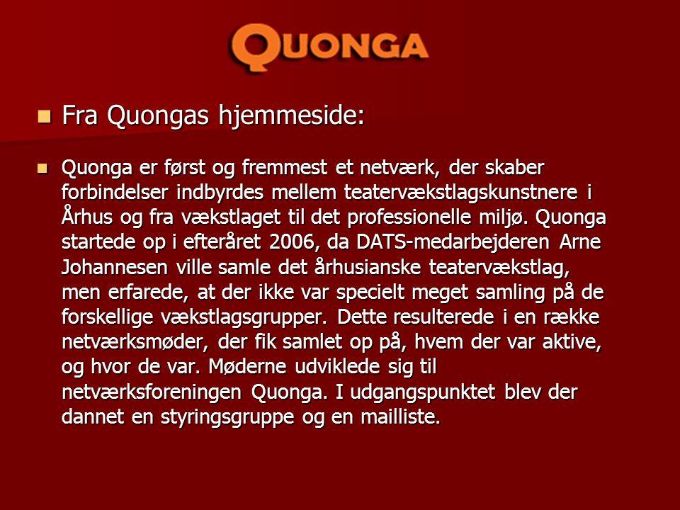 Fra Quongas hjemmeside: