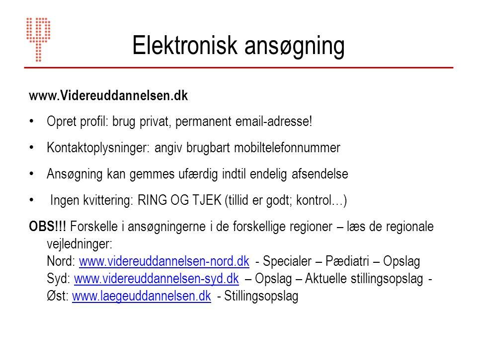 Elektronisk ansøgning