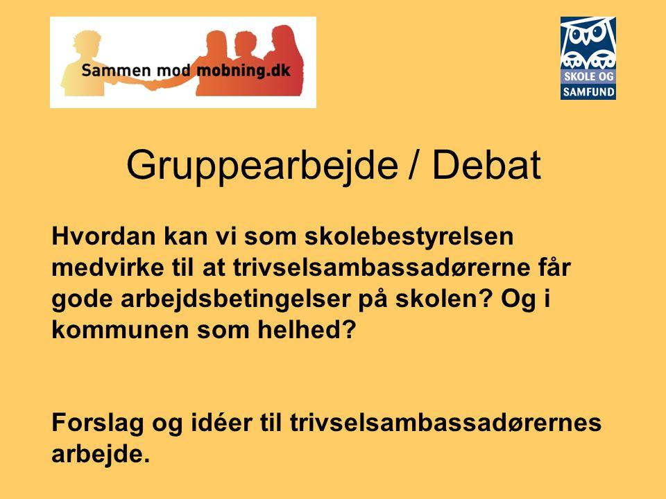 Gruppearbejde / Debat