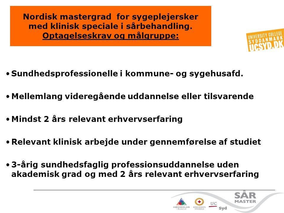 Sundhedsprofessionelle i kommune- og sygehusafd.
