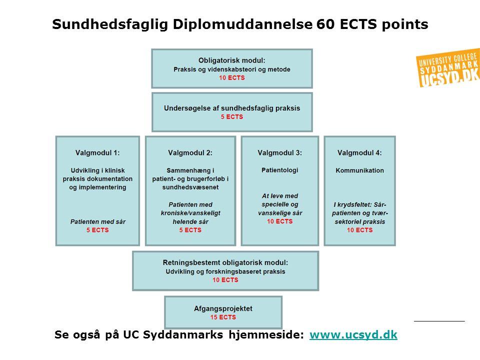 Sundhedsfaglig Diplomuddannelse 60 ECTS points
