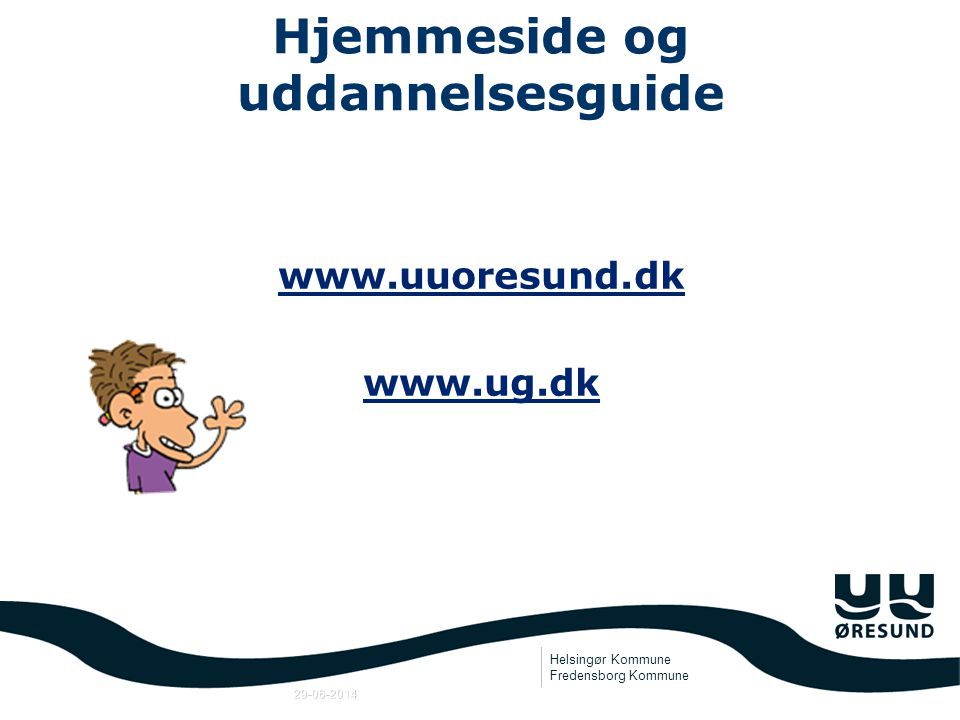 Hjemmeside og uddannelsesguide