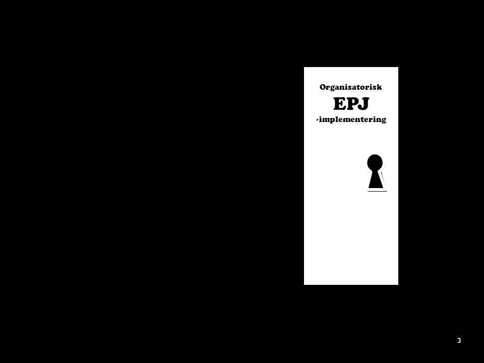 Organisatorisk EPJ -implementering