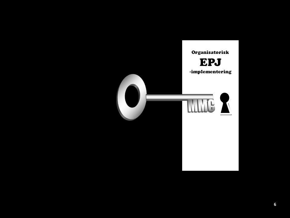 Organisatorisk EPJ -implementering MMC