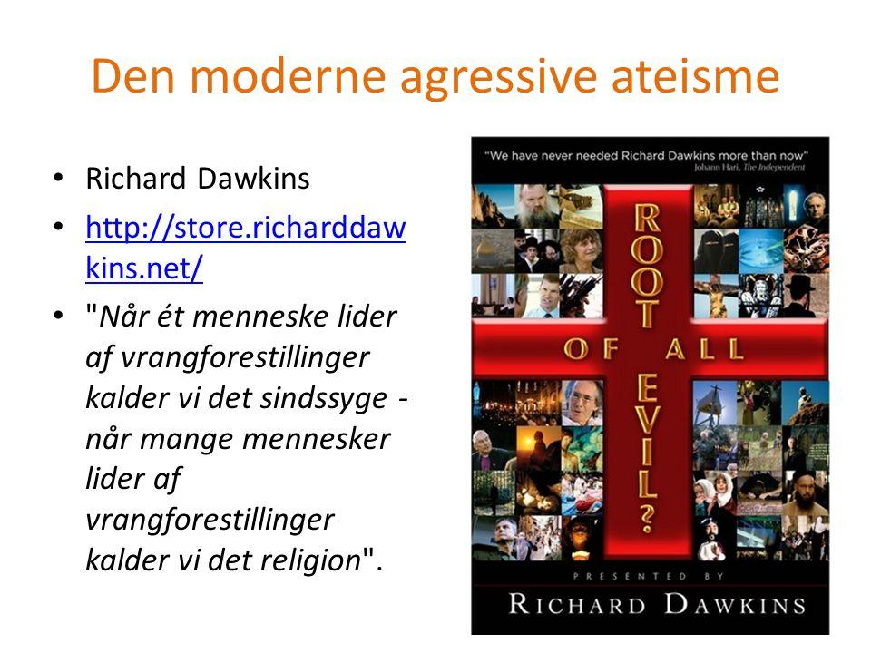 Den moderne agressive ateisme