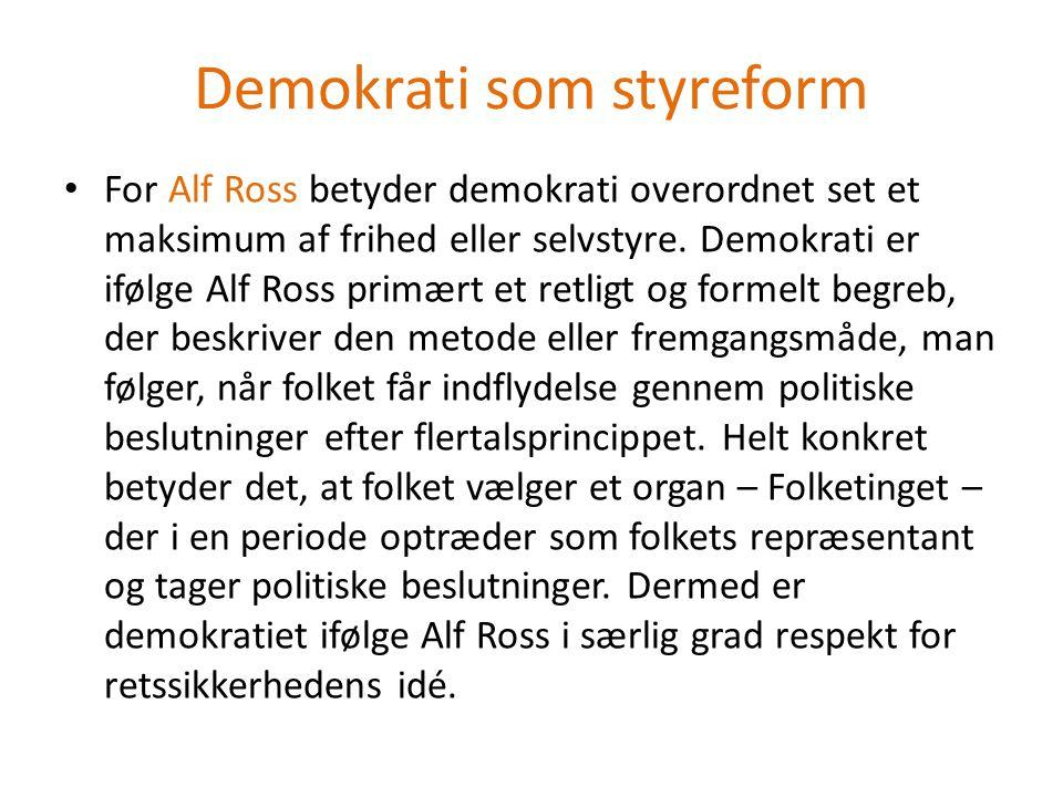 Demokrati som styreform