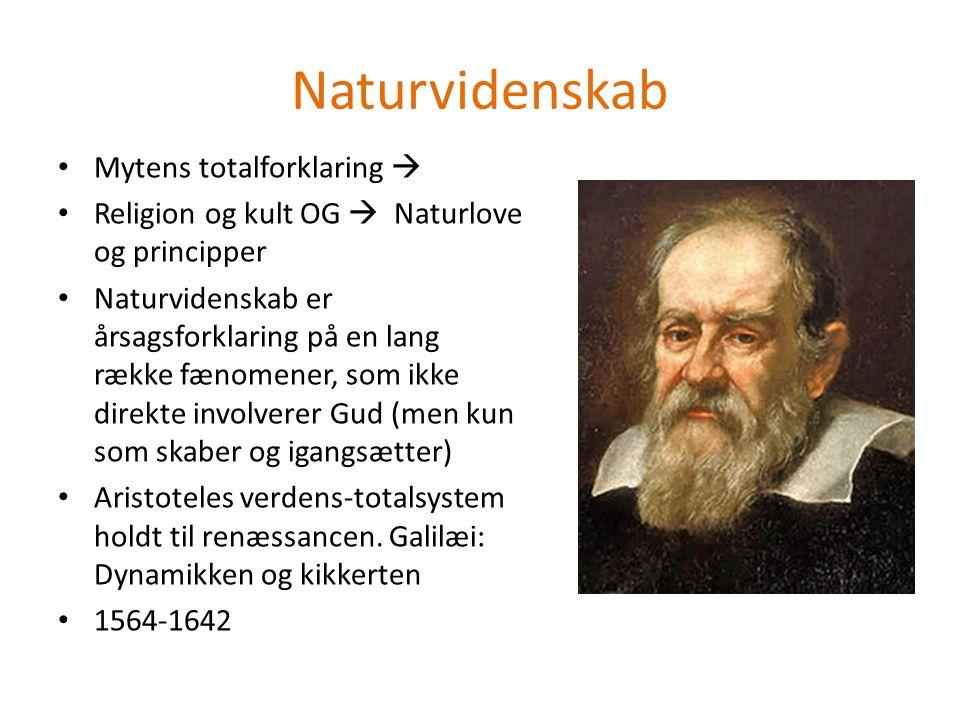 Naturvidenskab Mytens totalforklaring 