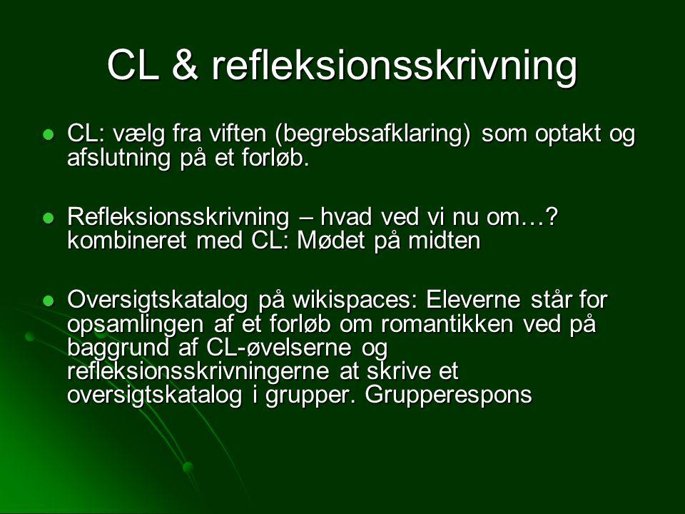 CL & refleksionsskrivning