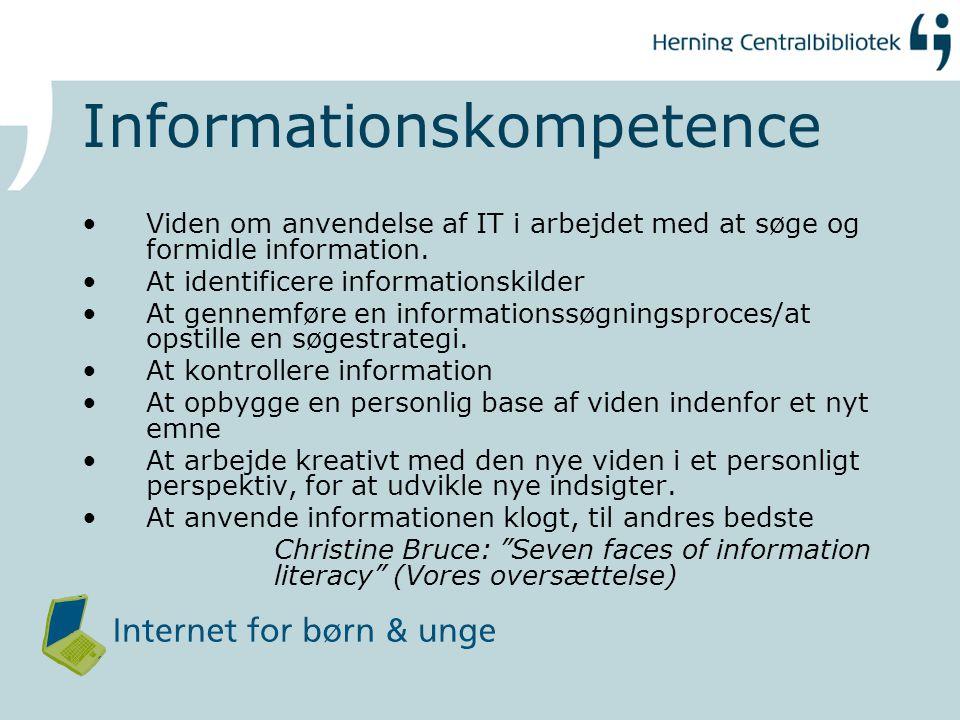 Informationskompetence