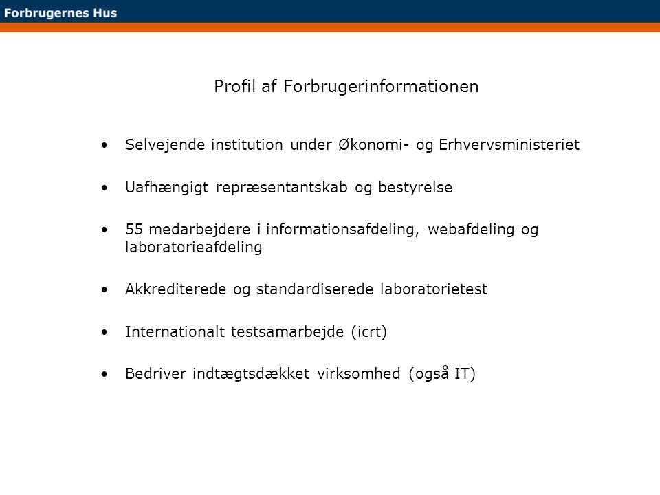 Profil af Forbrugerinformationen