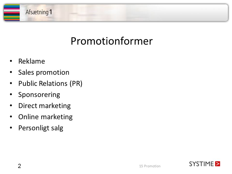 Promotionformer Reklame Sales promotion Public Relations (PR)