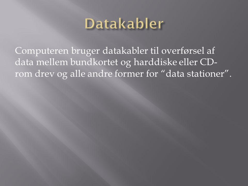 Datakabler