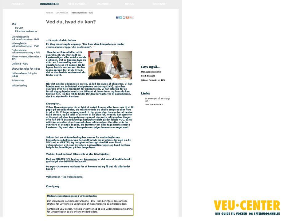 Markedsføring/hjemmeside
