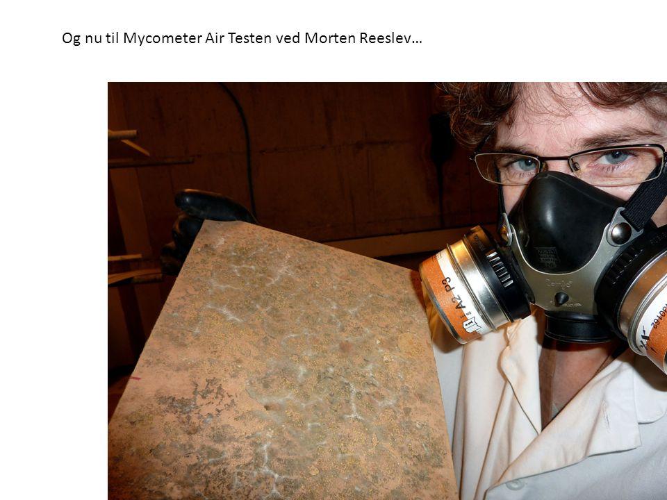 Og nu til Mycometer Air Testen ved Morten Reeslev…