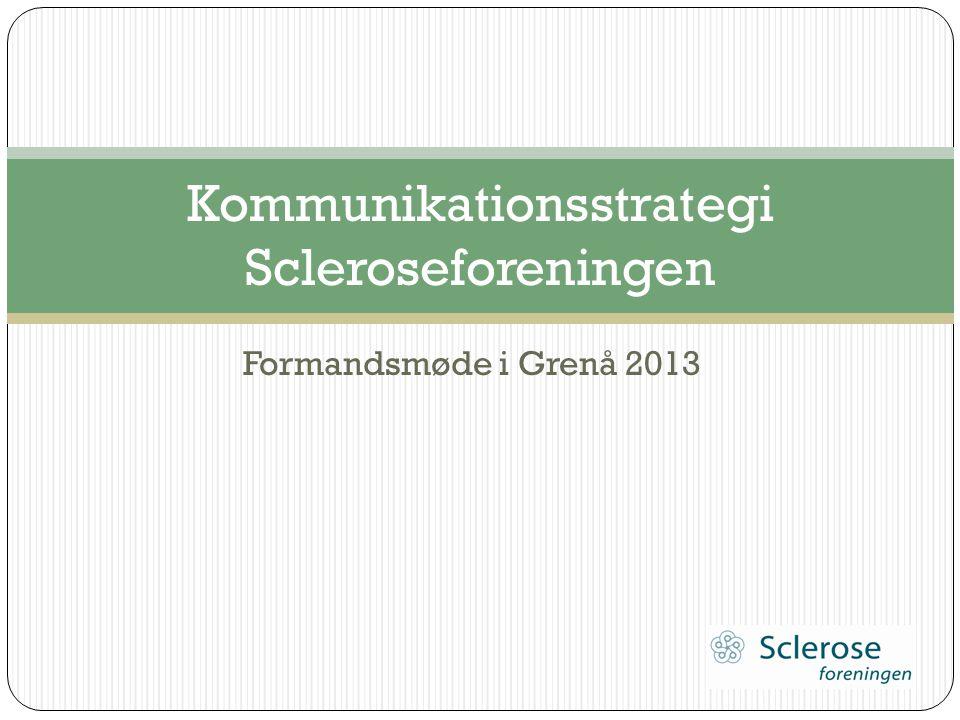Kommunikationsstrategi Scleroseforeningen