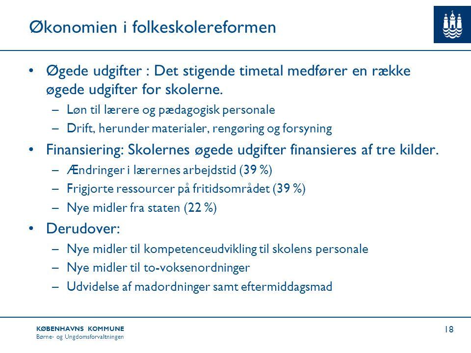 Økonomien i folkeskolereformen