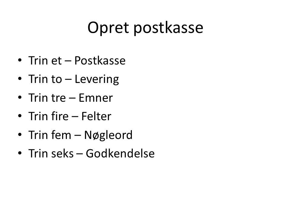 digital post dk