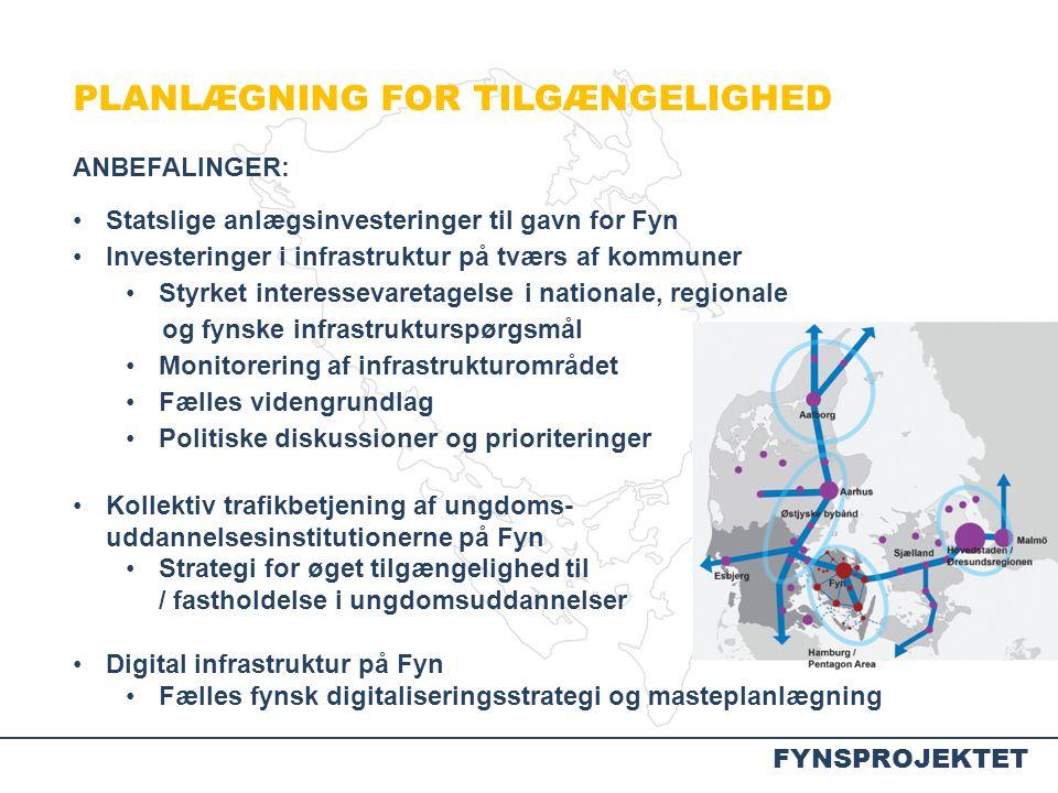 PLANLÆGNING FOR TILGÆNGELIGHED